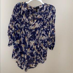 Floral BCBGMaxazria Button up Shirt